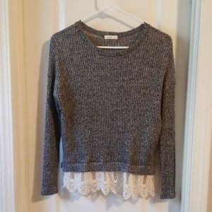 Lime chili sweater top